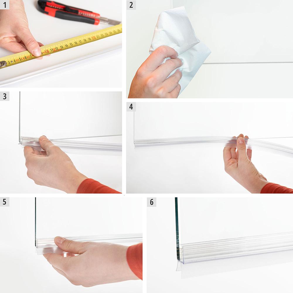 Montaż uszczelki prysznicowej krok po kroku