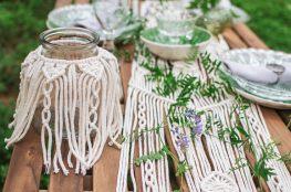 Makrama, czyli starożyta sztuka wiązania sznurków bawełnianych