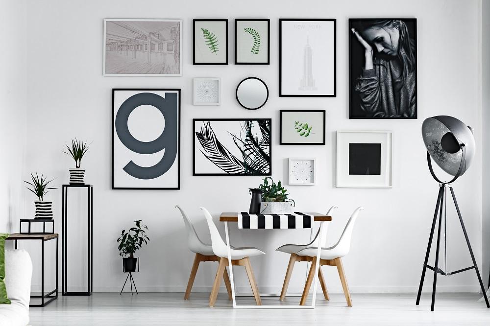 Ramki na zdjęcia na ścianie