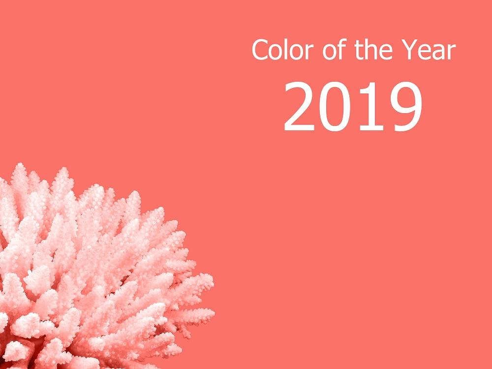 Living Coral - kolor roku wybrany przez Pantone