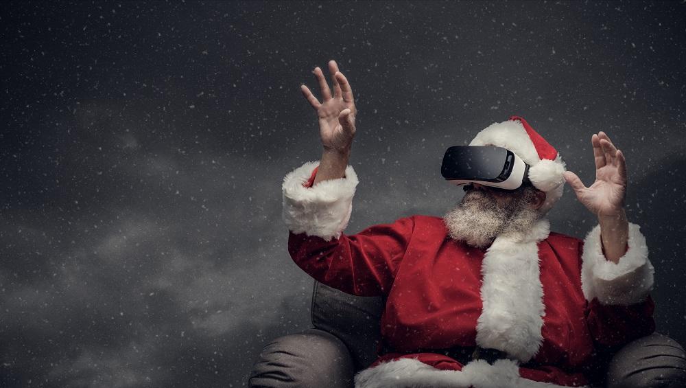 Święty Mikołaj w wirtualnej rzeczywistości