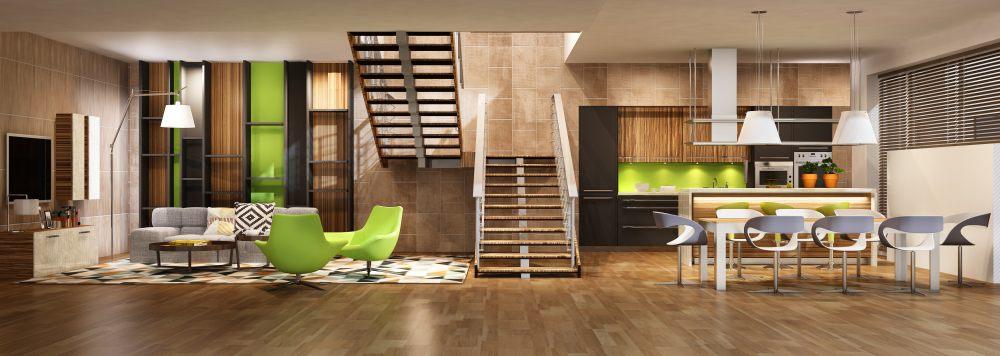 wnętrze-pokój-drewno-metal
