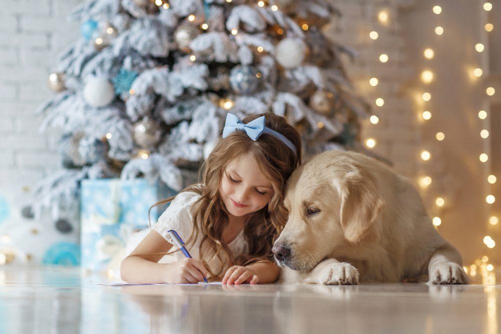 choinka-dzieci-psy