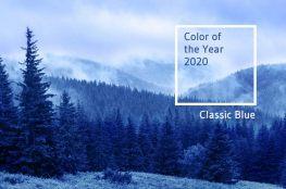 Kolor roku 2020 według Pantone – klasyczny niebieski odcieniem głębi życia