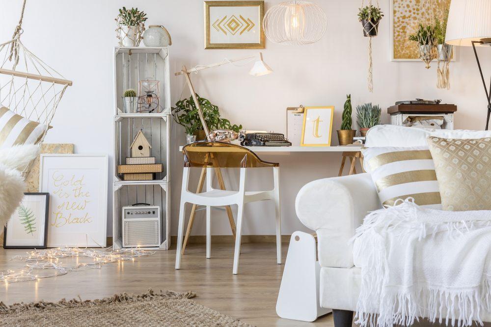 5 pomysłów, jak stworzyć wygodne biuro w domu 1