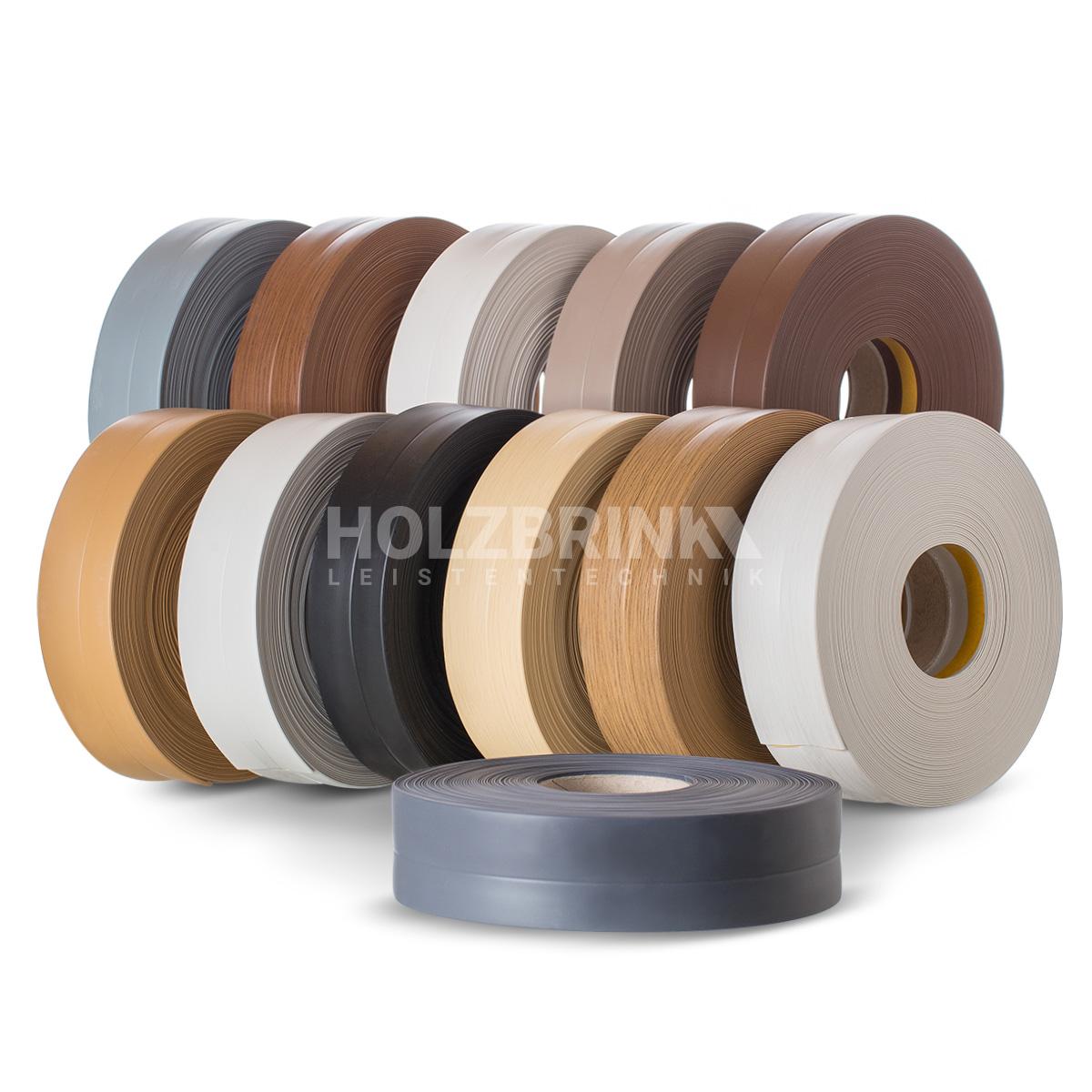 Listwy wykończeniowe przypodłogowe PVC Holzbrink