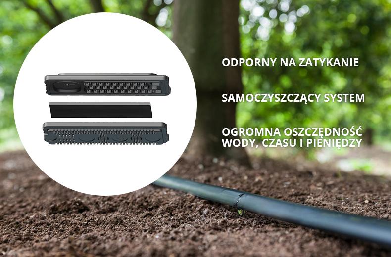 emiter w liniach kroplujących Basic i Advanced Holzbrink