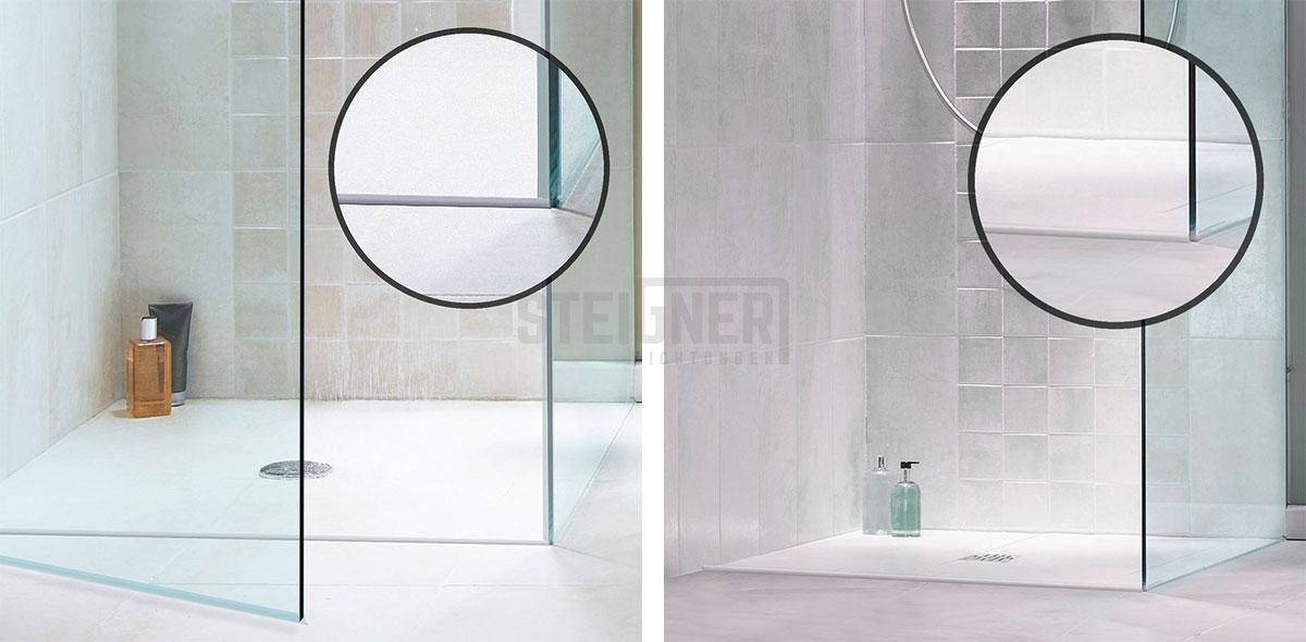próg akrylowy do kabiny prysznicowej