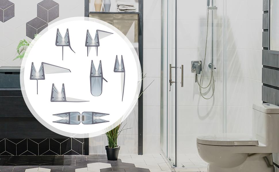 Uszczelki do kabiny prysznicowej Steigner