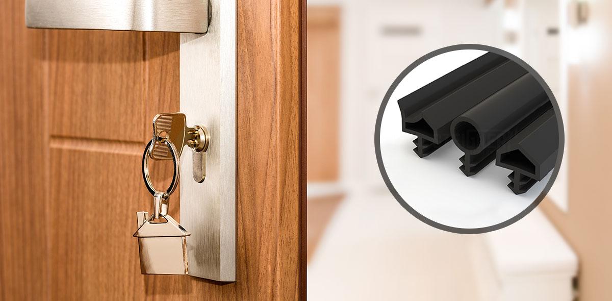 Uszczelki do drzwi i okien drewnianych STD Steigner