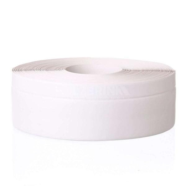 Listwa przypodłogowa miękka PVC gumowa samoprzylepna 100x25 mm biała PREMIUM