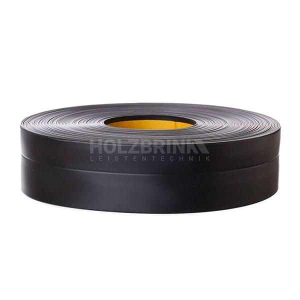 Listwa przypodłogowa miękka PVC gumowa samoprzylepna 32x23 mm czarna PREMIUM