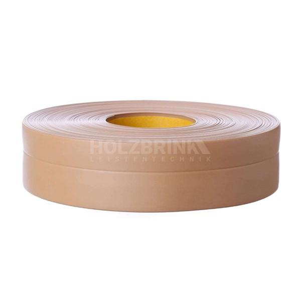 Listwa przypodłogowa miękka PVC gumowa samoprzylepna 32x23 mm karmelowa PREMIUM