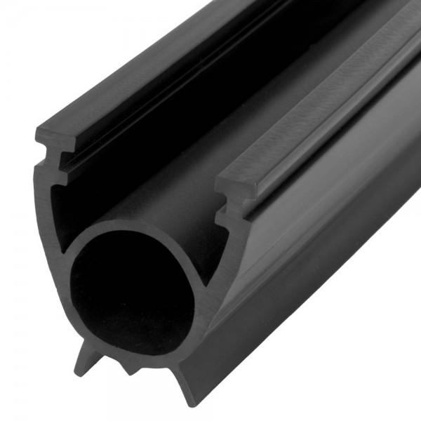 Uszczelka do bramy garażowej SBD01 33x41 mm czarna