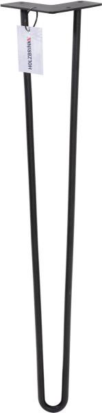 Noga do stołu z dwóch prętów Hairpin Legs, HLT-12A