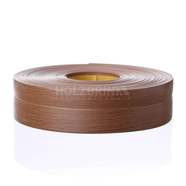 Listwa przypodłogowa miękka PVC gumowa samoprzylepna 32x23 mm dąb ciemny PREMIUM