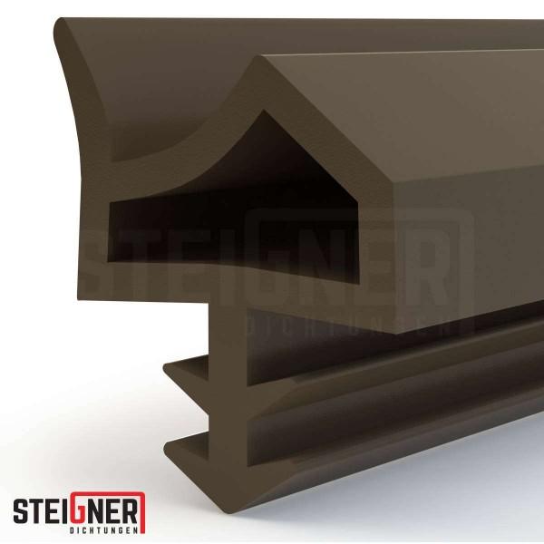Uszczelka do okien i drzwi drewnianych STD06 brązowa