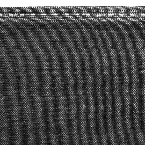Siatka cieniująca z linką montażową, czarna, HZB-02