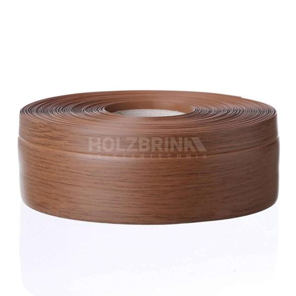 Listwa przypodłogowa miękka PVC gumowa samoprzylepna 50x20 mm dąb ciemny PREMIUM