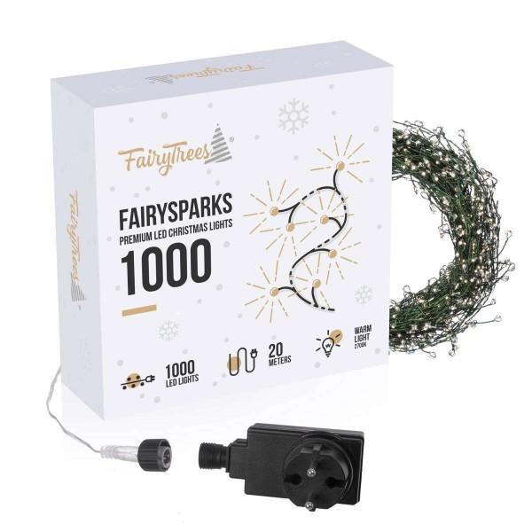 Lampki choinkowe LED FairySparks 1000 Premium