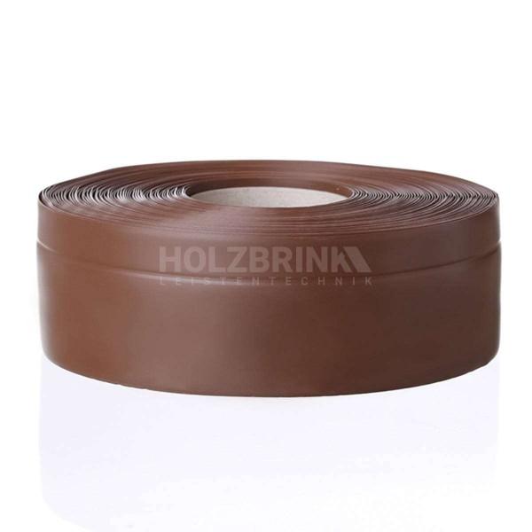 Listwa przypodłogowa miękka PVC gumowa samoprzylepna 50x20 mm czekoladowa PREMIUM