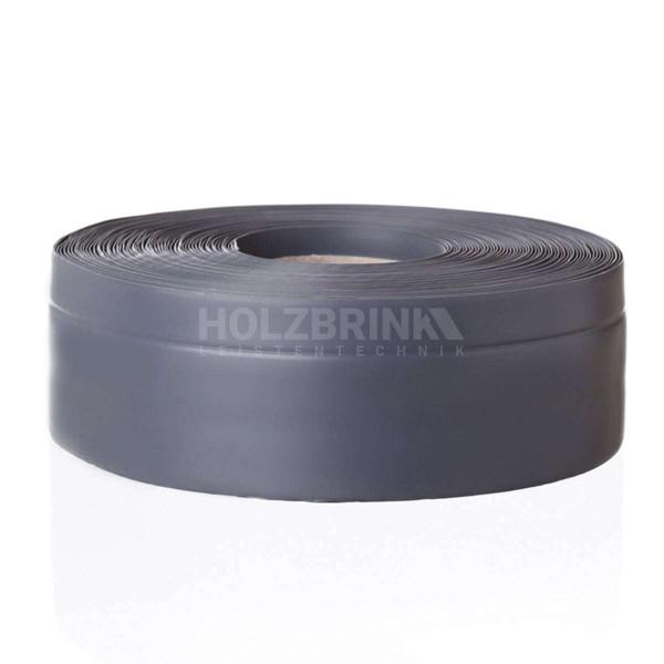 Listwa przypodłogowa miękka PVC gumowa samoprzylepna 50x20 mm ciemnoszara PREMIUM