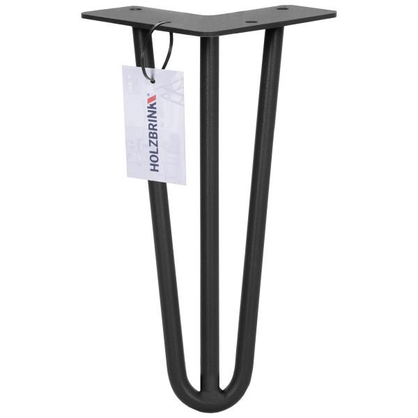 Noga do stołu z trzech prętów typu Hairpin Legs, HLT-13A