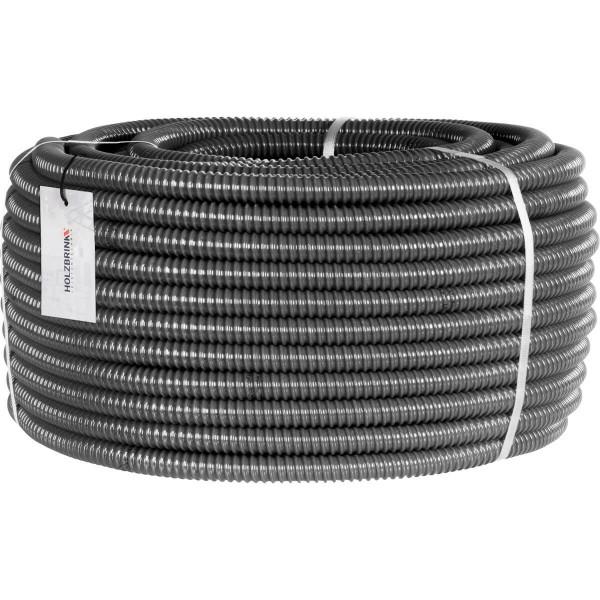 Wąż spiralny z PVC zbrojony, ssawno – tłoczny, wąż elastyczny do oczek wodnych, HVS