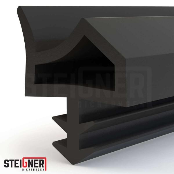 Uszczelka do okien i drzwi drewnianych STD06 czarna