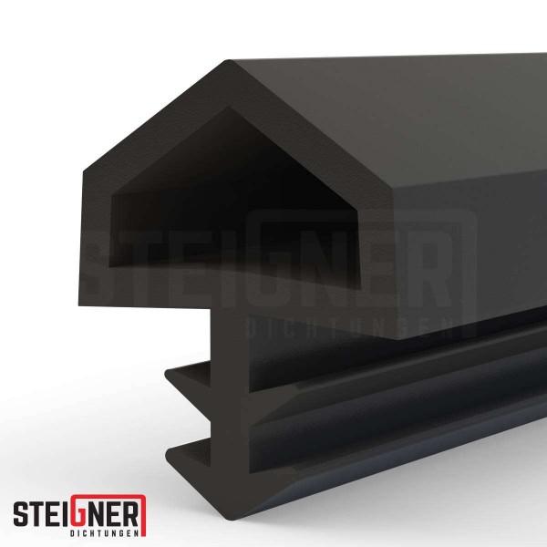Uszczelka do okien i drzwi drewnianych STD05 czarna