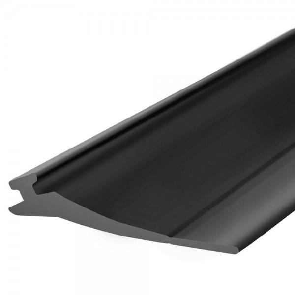 Górna uszczelka do bramy garażowej SBD03 52x2 mm czarna