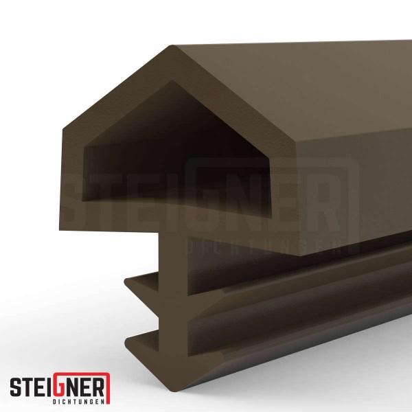 Uszczelka do okien i drzwi drewnianych STD05 brązowa