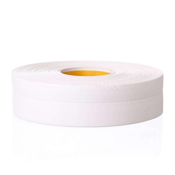Listwa przypodłogowa miękka PVC gumowa samoprzylepna 32x23 mm biała PREMIUM