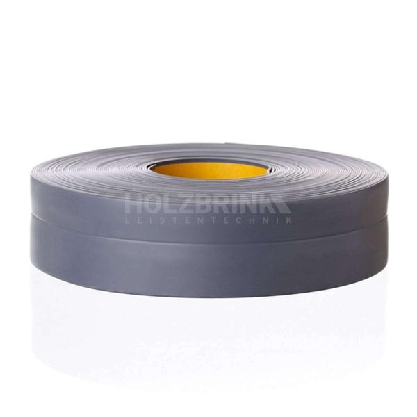 Listwa przypodłogowa miękka PVC gumowa samoprzylepna 32x23 mm ciemnoszara PREMIUM