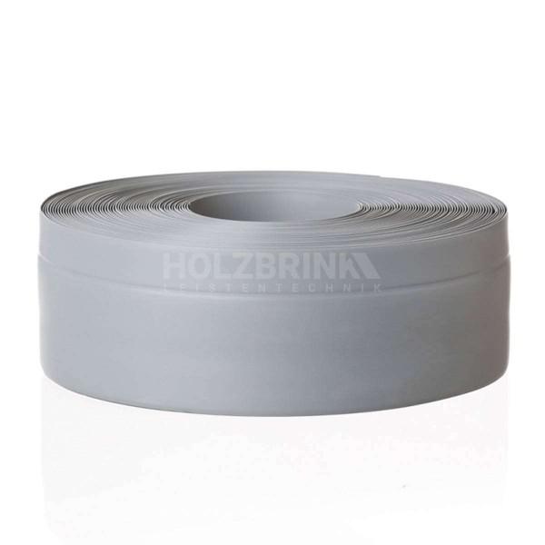 Listwa przypodłogowa miękka PVC gumowa samoprzylepna 50x20 mm jasnoszara PREMIUM