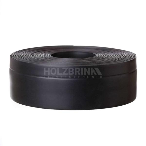 Listwa przypodłogowa miękka PVC gumowa samoprzylepna 50x20 mm czarna PREMIUM