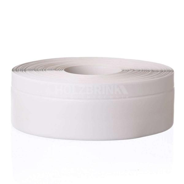 Listwa przypodłogowa miękka PVC gumowa samoprzylepna 50x20 mm popielata PREMIUM