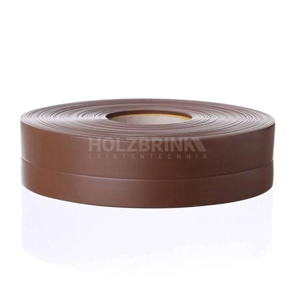 Listwa przypodłogowa miękka PVC gumowa samoprzylepna 32x23 mm czekoladowa PREMIUM