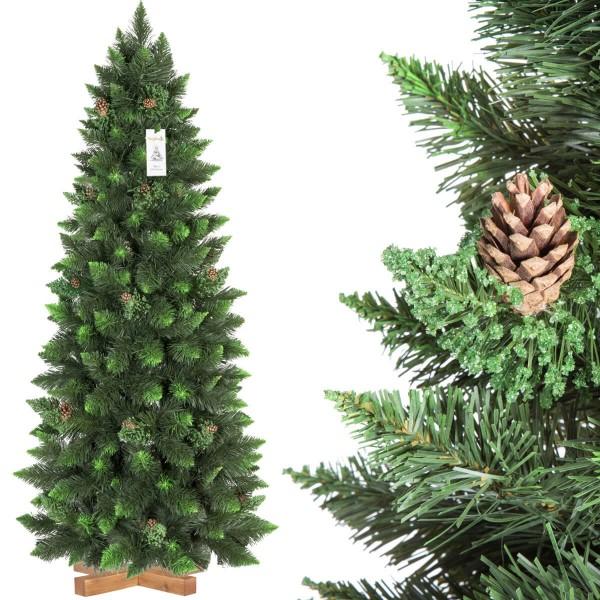 Choinka świąteczna Sosna Naturalna Zielona Slim