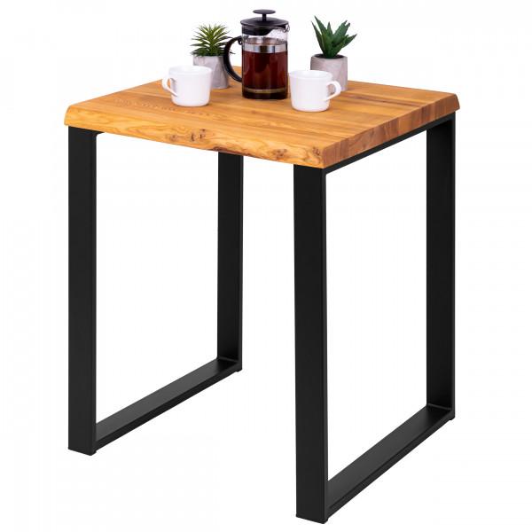 Stół kuchenny 60x60x76 cm, blat drewniany oflis